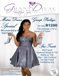 Grand Diva's Boutique Spa - Matric Dance Special - For a Group of 4